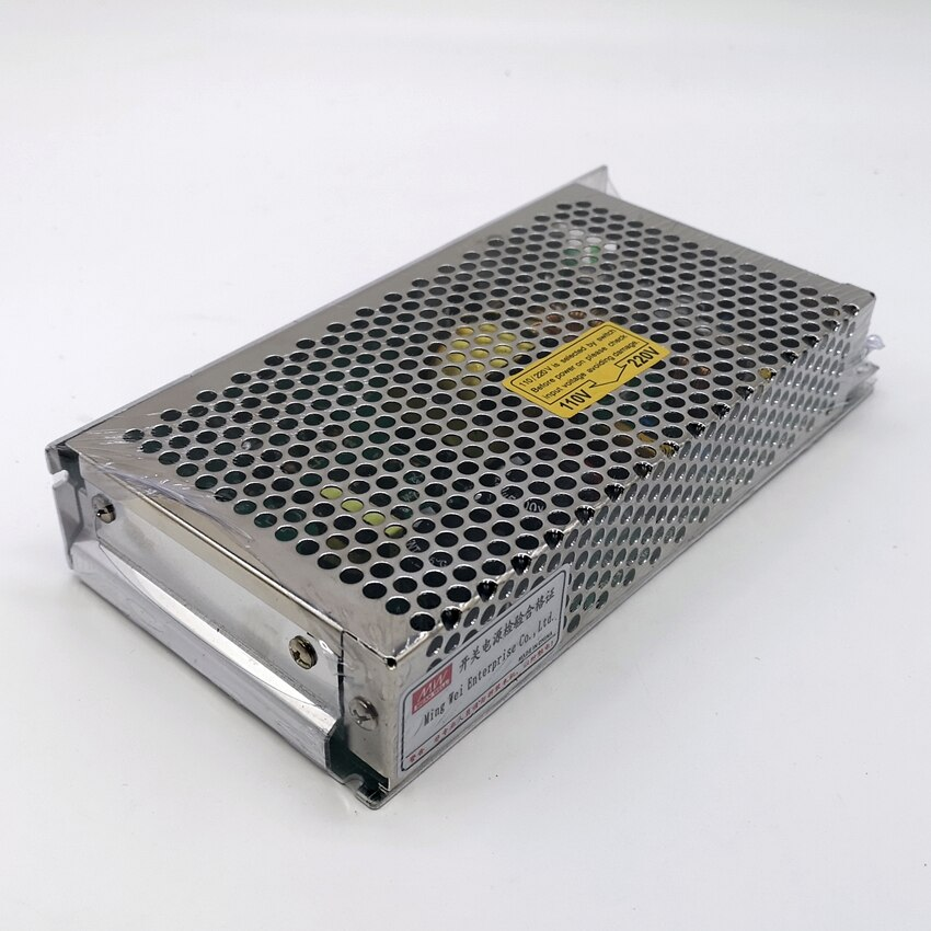 Fuente de alimentación conmutada S-120-24 120W 24V 5A transformador DC 24V DC de salida única