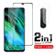 2 en 1 lentille verre de protection pour Huawei Honor 20e 20i 20S 20Pro protecteur décran sur Honor 20 Lite trempé 20 Lite Pro Honor 20