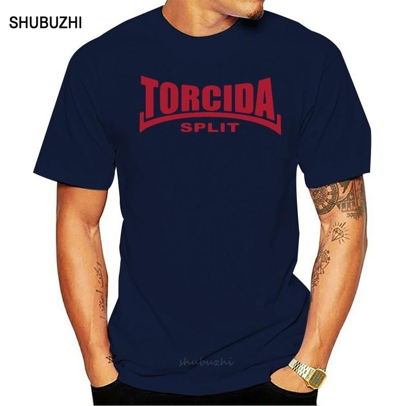 Torcida Split camiseta Hajduk Ultras Croatia Hrvatska hombres algodón camiseta verano marca teeshirt talla europea