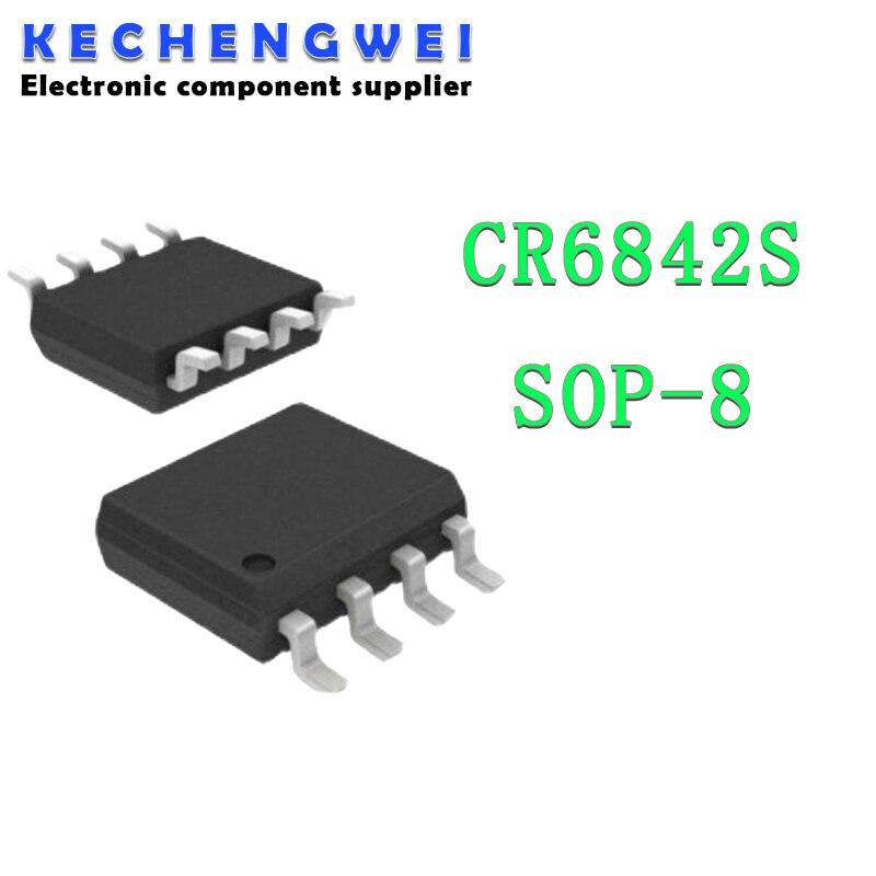 5 шт. CR6842S SOP-8 CR6842 SOP8 SOP as358m e1 as358m g1 sop 8