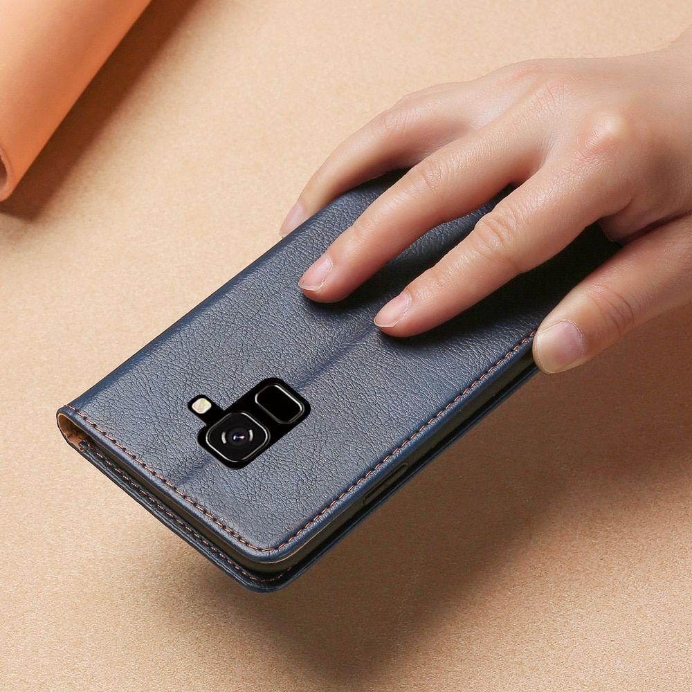Case for Samsung Galaxy J6 2018 Cover Leather Silicone Back Cover for Samsung Galaxy J6 2018 EU Case