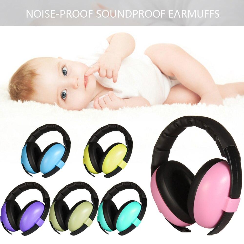 Baby Children Sleep Ear Defenders Noise Proof Earmuffs  Baby Boys Girls Anti-Noise Durable Headphone