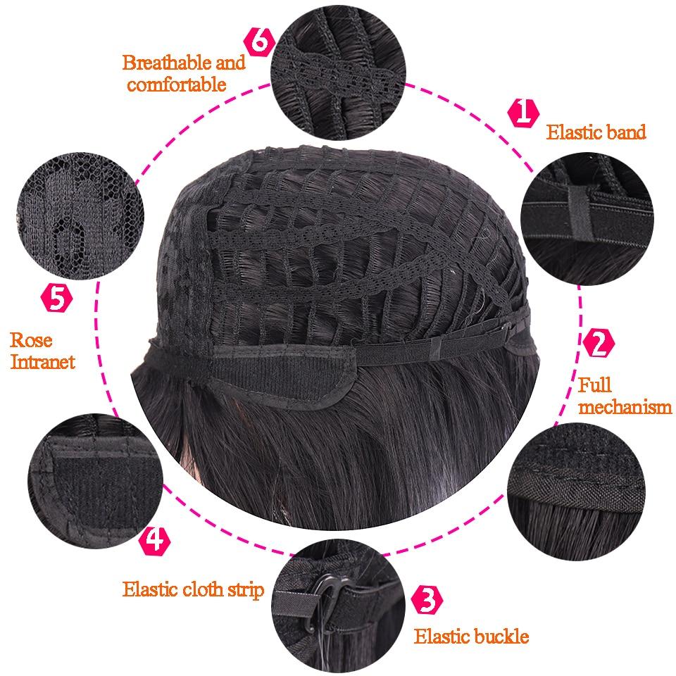 peruca senhora peruca sintética