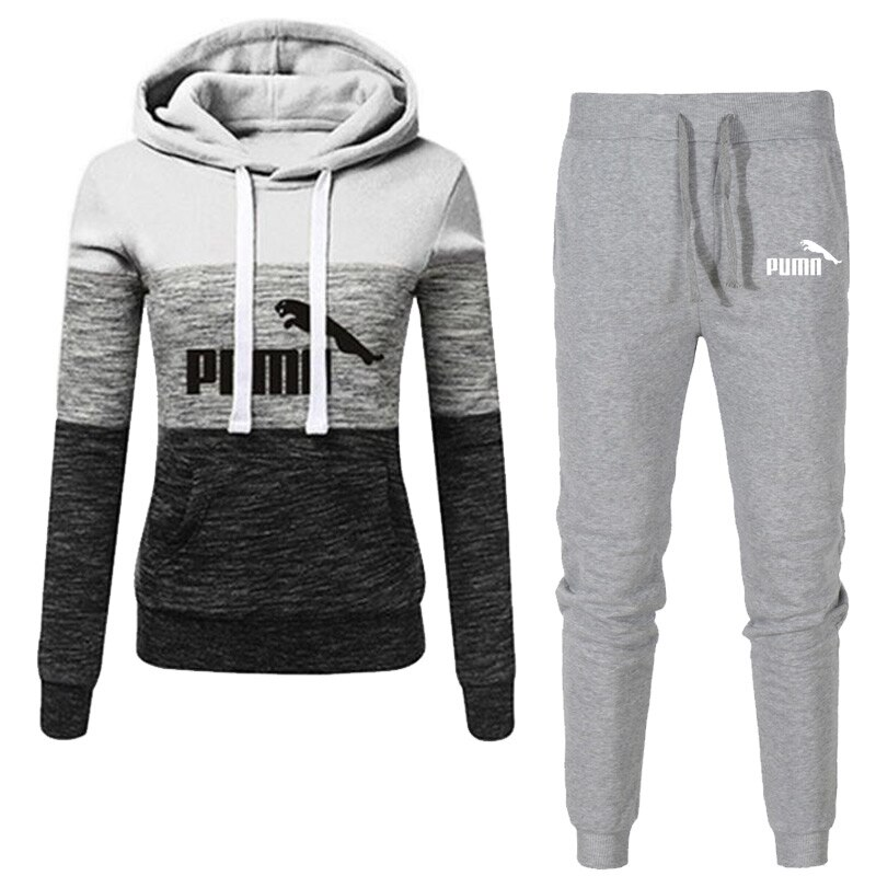 2020 Autumn Winter Hot Brand Two Pieces Sets Thick hoodies Tracksuit Men/women Sportswear Gyms Fitness Training Sweatshirts