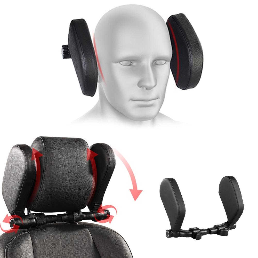Автомобильное сиденье, подголовник, комфортное кресло, подушка для шеи, Подушка для сна, боковая опора для головы по бокам, шейный позвоночн...