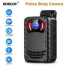 BOBLOV N9 мини-камера для тела Full HD 1296P маленькая портативная полицейская камера ночного видения с поддержкой 256G DVR Прямая поставка