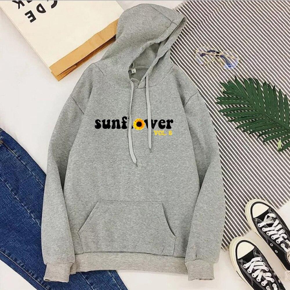 Винтаж свитшот с подсолнухом Повседневные принты пуловеры больших размеров новые Для мужчин Уличная Винтаж толстовки Harajuku 2021