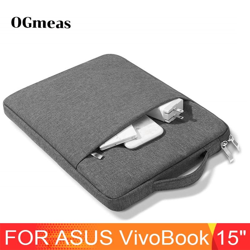 Nylon Laptop Bag Case For ASUS VivoBook Flip 15 ROG Zephyrus S Strix SCAR 15 Zipper Handbag Sleeve VivoBook K570UD 15.6 S Cover