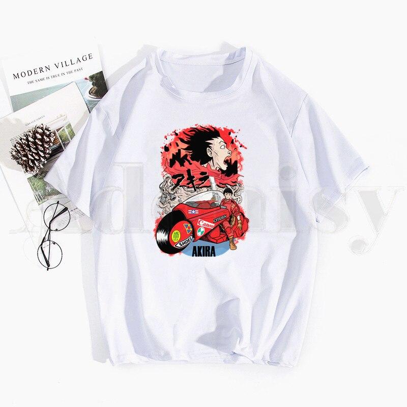 Camisetas de Manga corta de Anime japonés para hombre y mujer, ropa...