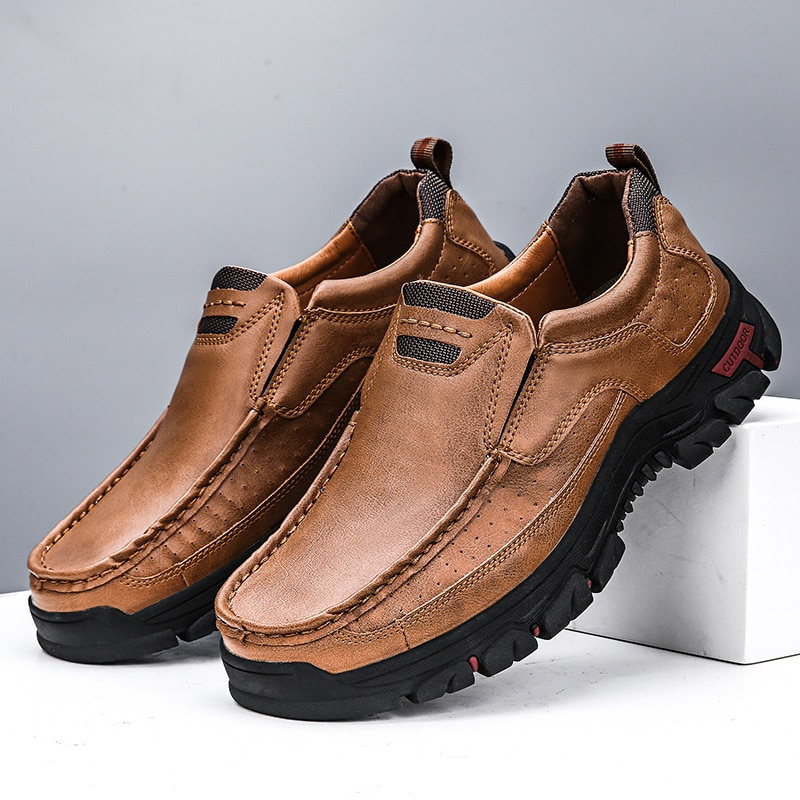 laisumk genuine leather casual shoes fashion men shoes breathable summer comfortable men real leather shoes slip on moccasins Genuine Leather Men Casual Shoes Fashion Breathable Loafers Men Outdoor Comfortable Walking Sneakers 2021 Slip-on Driving Shoes