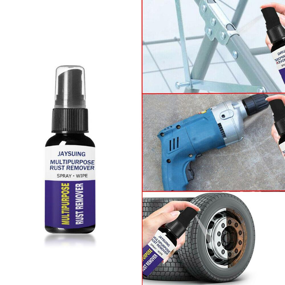 30ml Rust Remover Window Rust-proof Lubrication Inhibitor Wheel Hub Screw Derusting Spray for Metal Parts Car Maintenance Clean