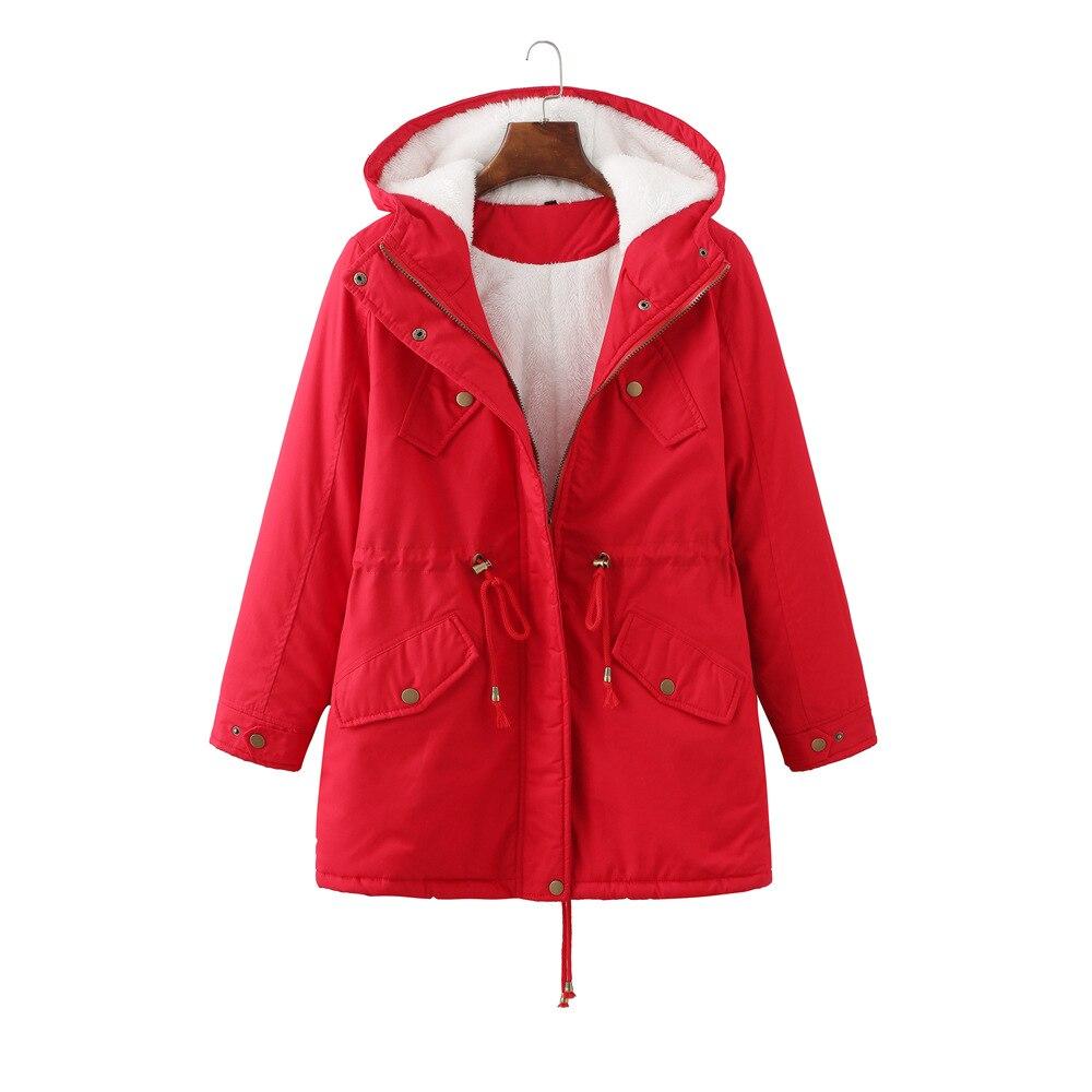 القطن معطف سترة واقية سترة 2021 جديد الشتاء المرأة مقنعين الرياضة موضة عادية سترة واقية معطف الاتجاه