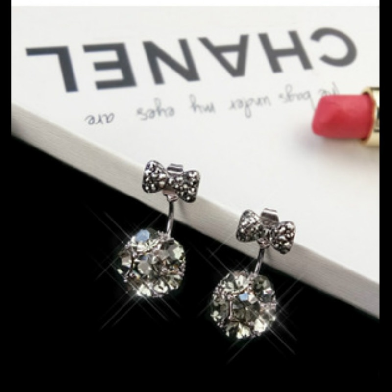 Naušnice modni nakit naušnice od kristalne kuglice dame za - Modni nakit - Foto 2