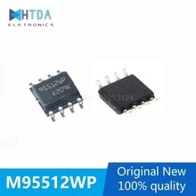 5pcs/lot M95512-WMN6TP 95512WP SOP-8 512KBIT SPI In Stock