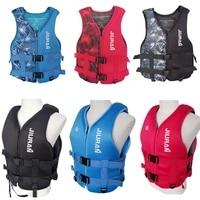 buoyancy suit childrens buoyancy vest swim life jacket maple leaf pattern portable breathable gifts super floating dive