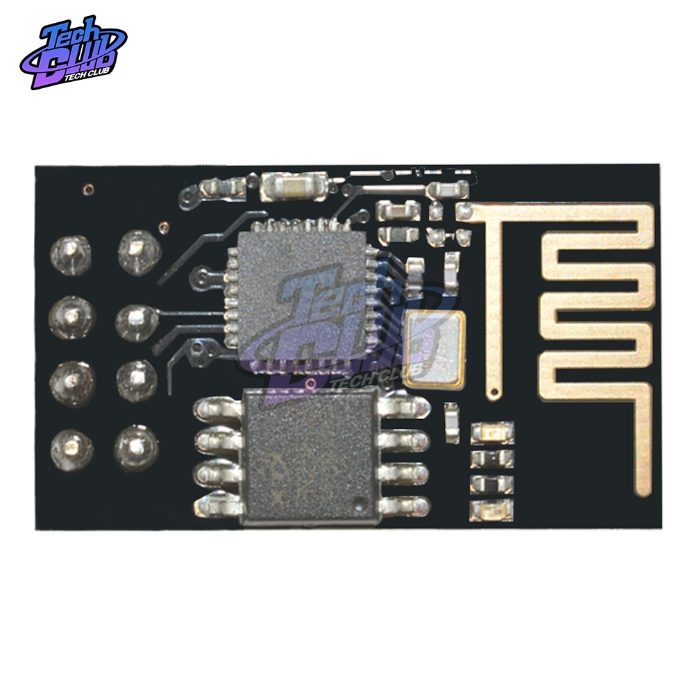 Versión actualizada ESP-01 ESP8266 módulo inalámbrico WIFI serial transceptor inalámbrico ESP01 ESP8266-01 SDIO 2,0 SPI UART