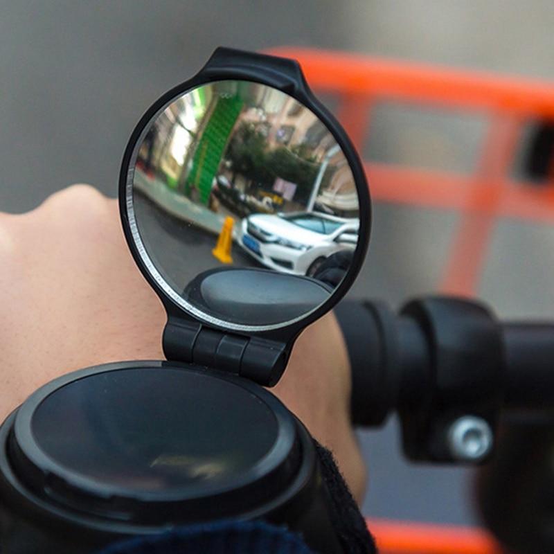 Strada Guida Della Bicicletta Specchietto retrovisore Mountain Bike Accessori Moto 360 Gradi di Rotazione Regolabile Da Polso Banda Ciclismo