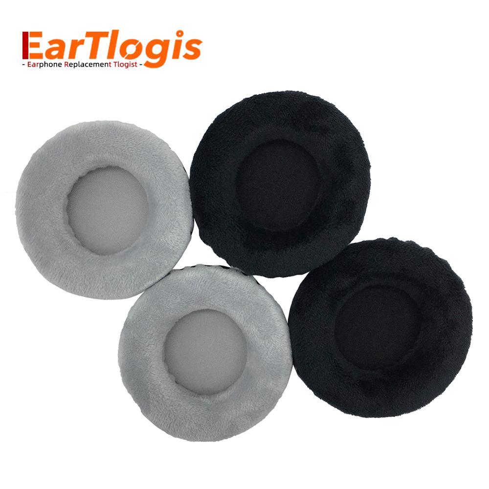 Almohadillas de repuesto de terciopelo EarTlogis para Sony MDR-CD170 CD MDR-170, piezas de auriculares, funda de orejera, cojín, cojín de tazas