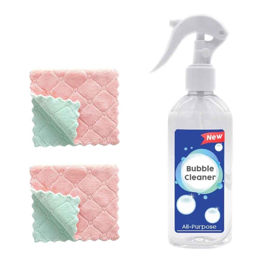 Limpiador de burbujas limpiador multiusos limpiador de espuma grasa de cocina multiusos limpieza del hogar Limpiador de cocina limpiador de polvo