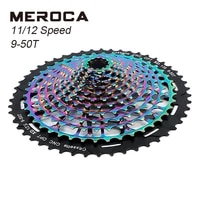 meroca mtb bicycle xd flywheel 9 50t cnc 11 speed colorful flywheel ultralight 12 speed xd flywheel