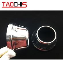 TAOCHIS рестайлинг автомобилей кожух маска для 3,0 дюймов HELLA 3R G5 3/5 Koito Q5 линзы проектора bi xenon A Тип