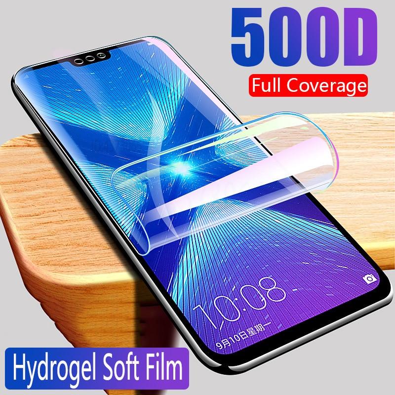 Hydrogel Film For Huawei Honor 9X 9A 9C 9S 8X 8A 8C 8S Protective on the For Honor 7A 7C 7S 7X 9i 10i V10 V9 Glass