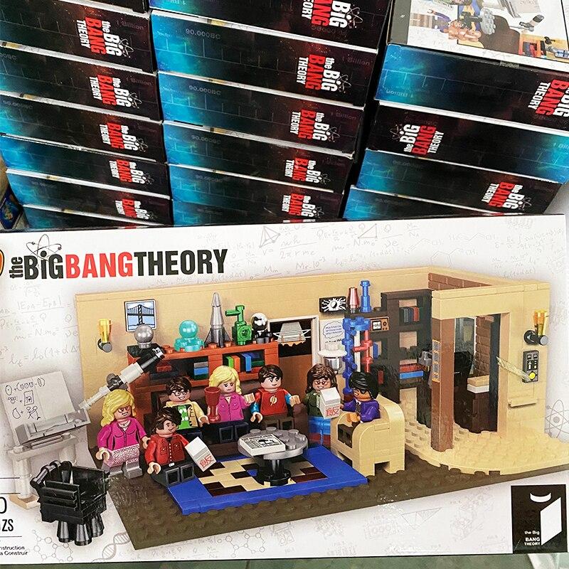 NEW Classic TV Series  21302 The Big Bang Theory American Drama Friends Central Perk Cafe Model Building Block Bricks 21319