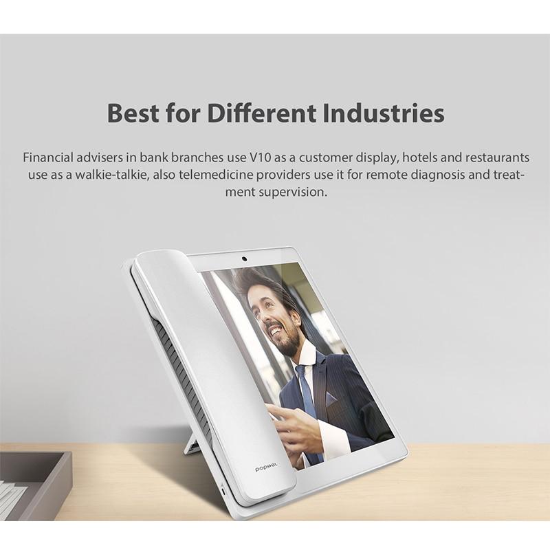 Smart wireless video Telephone 8 Inch 2G/16G Bluetooth Phone  Video Telephone Tablet Phone for Home/office/hotel enlarge