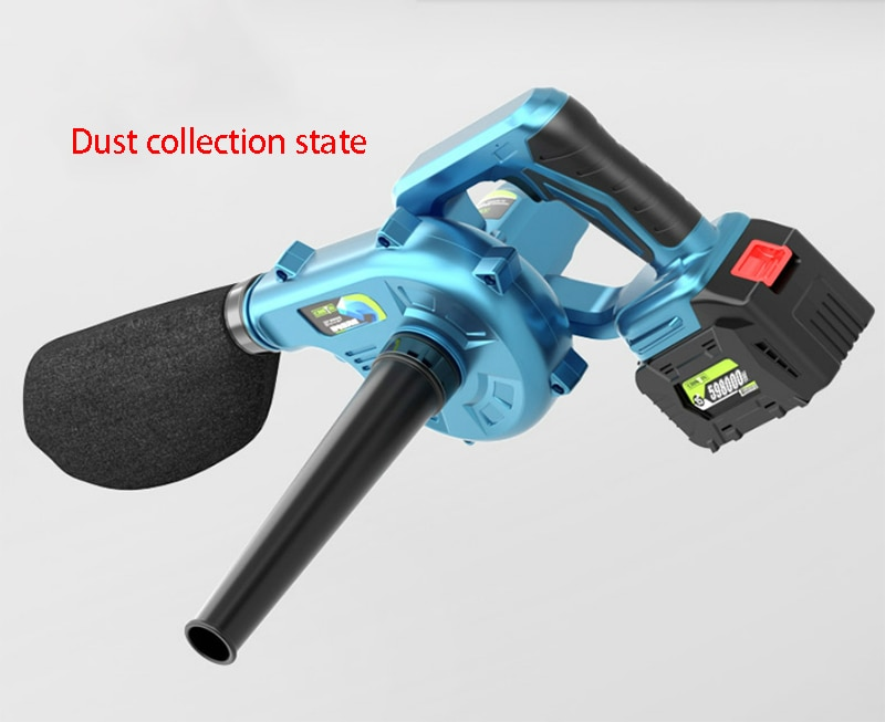 Charging Soot blower Blowing air blowing grab Electric dust blowing High pressure Dust removal Pneumatic tool (Battery 298000H) enlarge