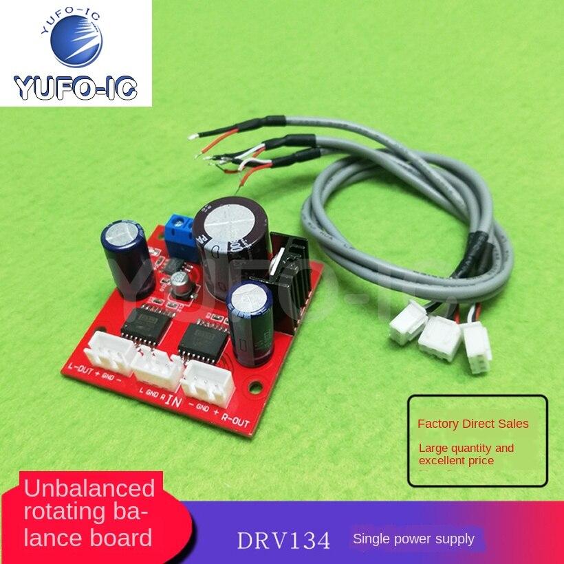 2 uds DRV134 sin equilibrio para equilibrar el suministro eléctrico individual y la entrada diferencial de dos canales placa amplificadora de potencia salida BTL