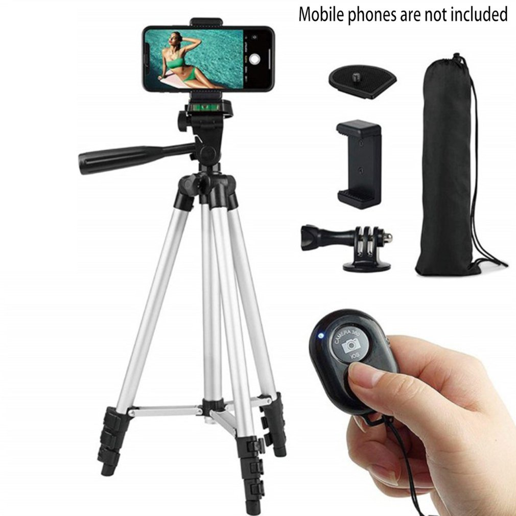 Mobile Phone Tripod Stand Universal Photography Camera Stand Holder Remote Control Live Broadcast Tripod Phone Holder mobile phone holder flexible octopus tripod bracket for mobile phone camera selfie stand monopod support photo remote control