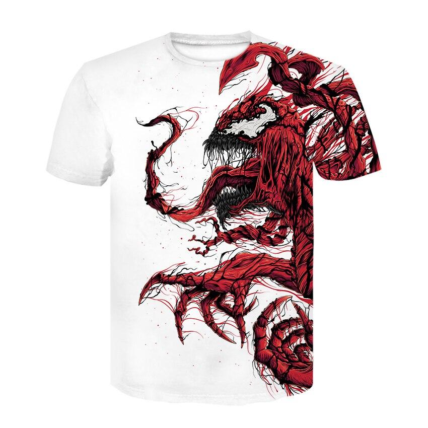2020 Summer Newest Boy Girl Venom t-shirt Kids 3D Printed T-shirts Children Casual Tshirt Short Sleeve Pullover Punk T Shirt top