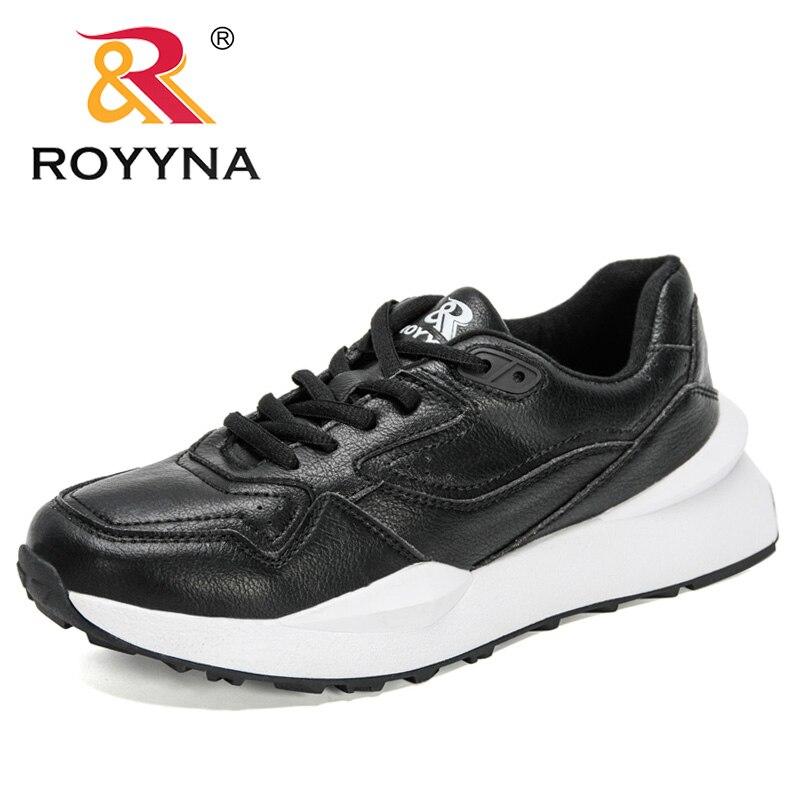 ROYYNA 2021 New Designers Fashion Vulcanized Shoes Walking Flats Shoes Ladies Platform Classics Sneakers Women Zapatillas Mujer