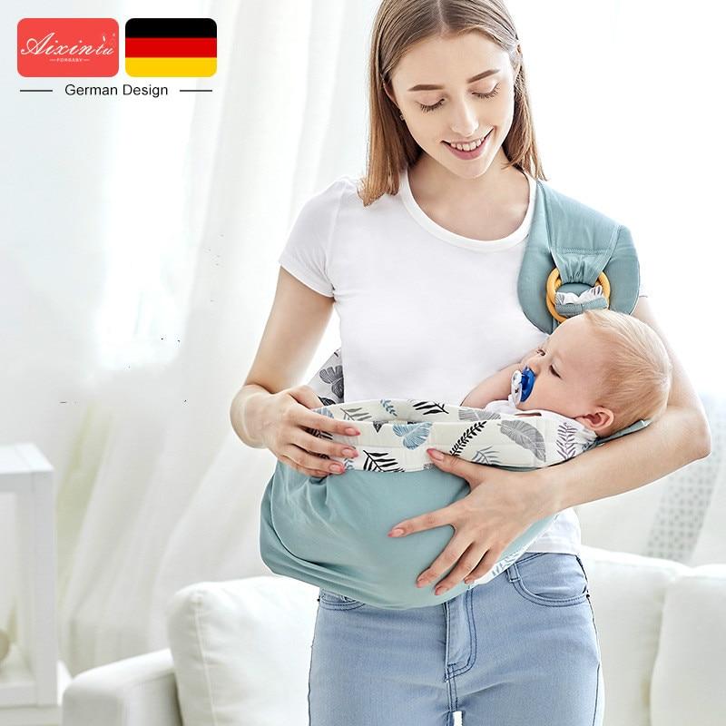 Переноска для новорожденных, удобная переноска, качели для новорожденных, горизонтальный держатель для младенцев, слинг, корзина, подарок