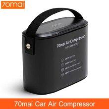 Оригинальный 70mai воздушный компрессор для шин, автомобильный насос для шин 70 MAI, переносной электрический автомобильный воздушный насос, мини-рвотный насос 12 В