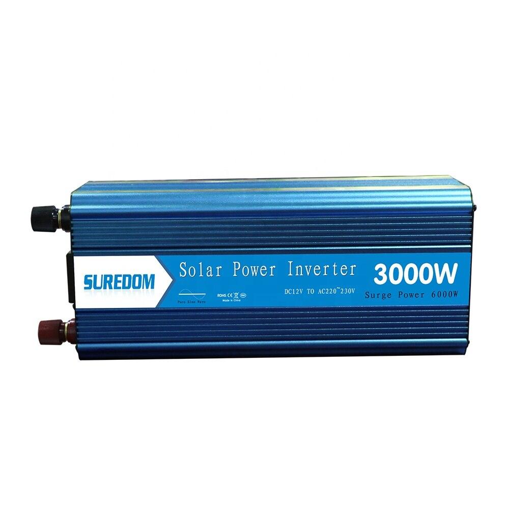 عاكس 3000 واط 12 فولت 24 فولت إلى تيار متردد, محول موجة جيبية نقية 3000 واط 12 فولت 24 فولت إلى تيار متردد