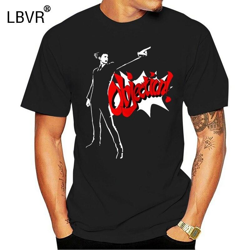 630 Phoenix Wright Ace Attorney Objection Gyakuten Saiban T Shirt Tee New Unisex Funny Tee Shirt