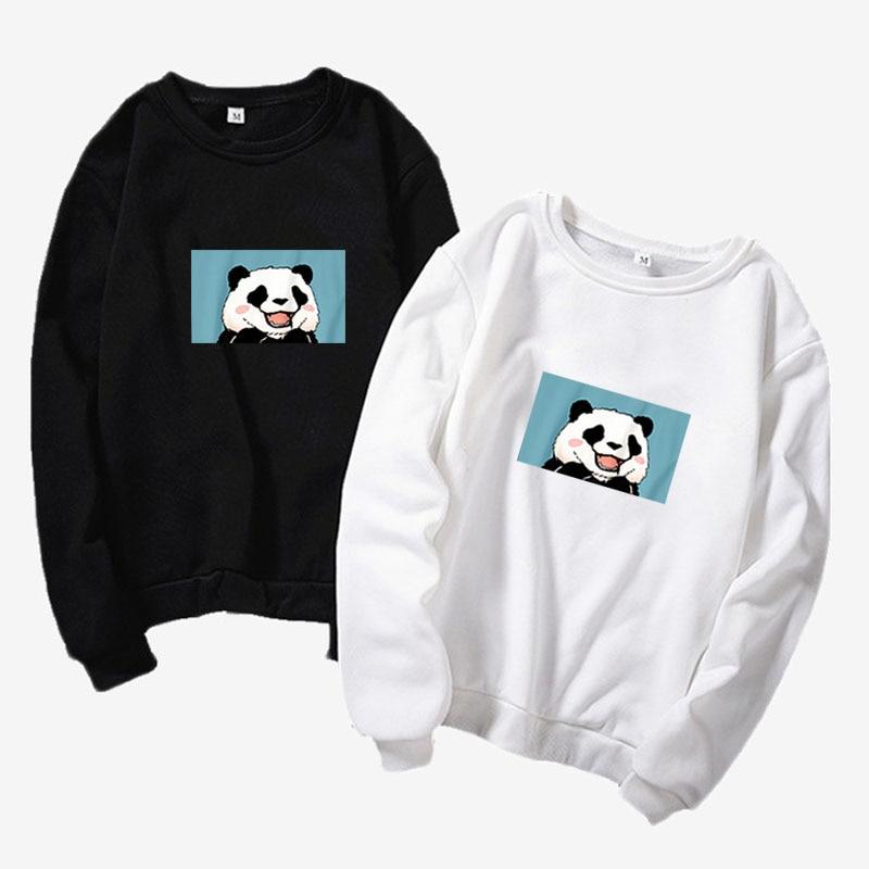 Japão Harajuku Moletom Panda-Camisola Neues Unisex-Camisola 2019 aus rosafarbenem Milchkarton für Jugendliche