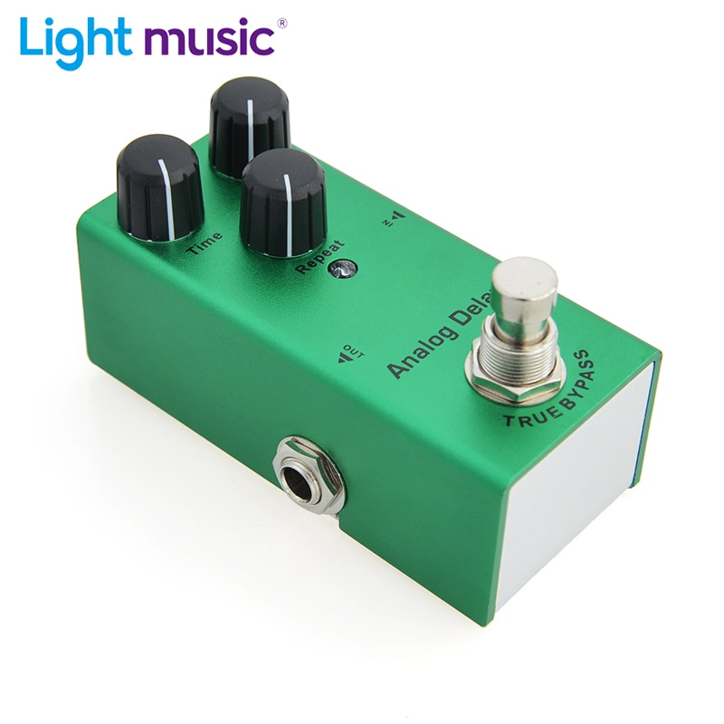 Electric Guitar Pedal Analog Delay Mini Single Type DC 9V True Bypass Time/Mix/Repeat Knob Effect Pedal Guitar Parts