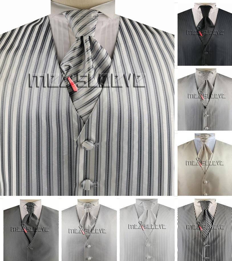 free shipping wholesale  Mens Suit Tuxedo Dress tailored Vest 3pcs