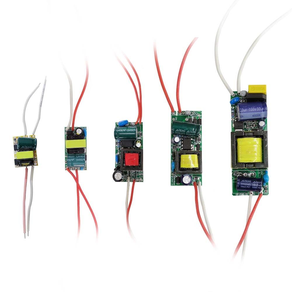 LED Driver 260mA Transformer Constant current Power Supply Unit AC85-265V 110V 220V to DC 12V 24V 1W 3W 5W 10W 18W 20W 25W 36W
