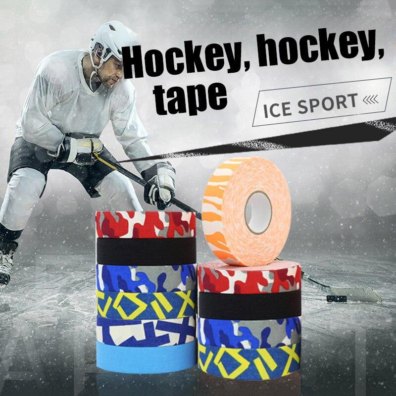 Лента для хоккея с нескользящей ручкой, бейсбольные биты, цветная липкая пленка, ALS88