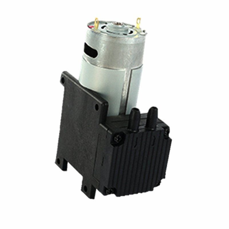 Micro  Vacuum Pump 12V Diaphragm Pump 24V High Flow High Pressure Micro Air Pump kamoer kvp04 12v 24v mini diaphragm vaccum pump electric air pump with low flow rate 1 1l min and low noise