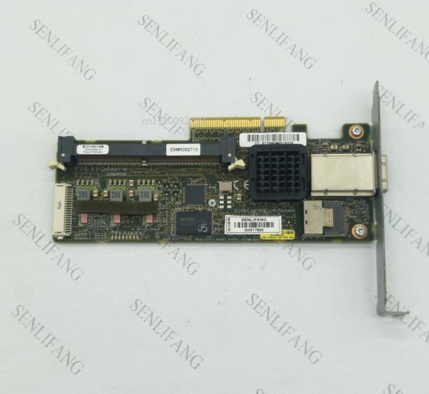 Usado 462594-001 462828-B21 013218-001 para HP P212 SAS HBA tarjeta controlador RAID tarjeta compatible raid 0 , 1 , 5 con 256M de RAM