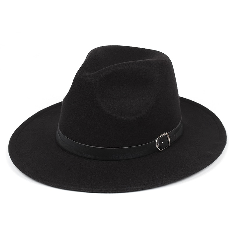 Новинка 2021, мужская шапка, женская шапка с широкими полями, однотонная шапка-котелок из искусственной шерсти, мягкая шапка с плоским верхом