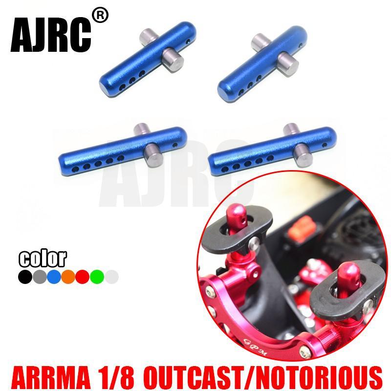 ARRMA OUTCAST пресловутый алюминиевый сплав + нержавеющая сталь Передняя и задняя основа столбы MAO201FR