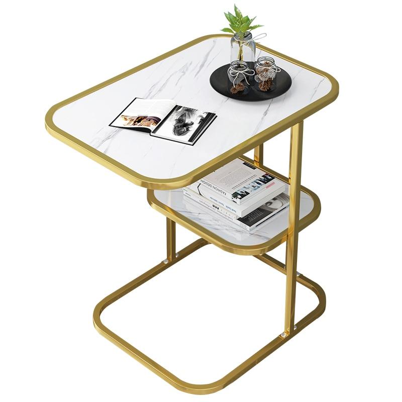 Nórdicos pequeña mesa de café sofá mesa de salón habitación Simple pequeña...