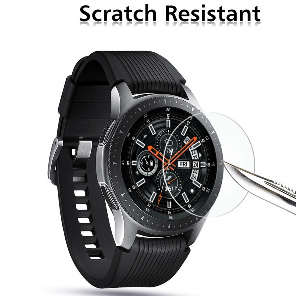 Screen Protector Glass For Samsung Gear S3 Frontier/S2/Sport Smartwatch Film Galaxy Watch 46mm/42mm/Active 2 Accessories