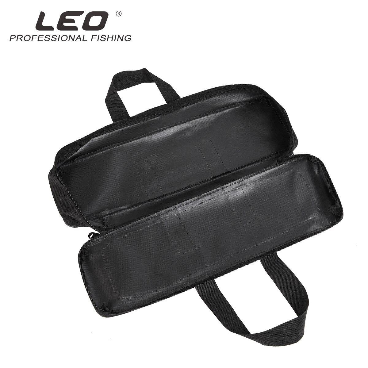 2019 Fashion Black Single Layer Steel Fishing Gear Bag Portable 50cm, 60cm, 70cm three specifications Mini-rod Bag Leisure Bag enlarge