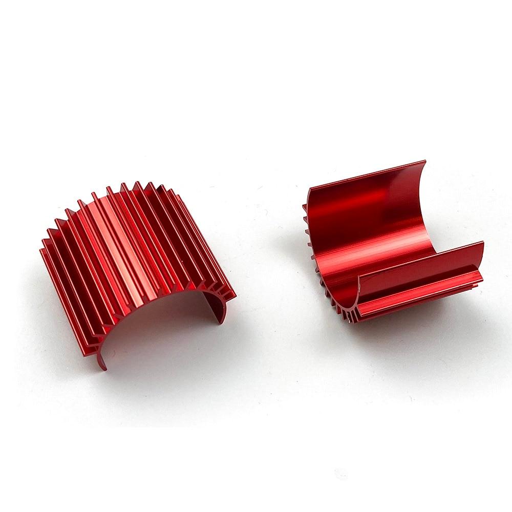 Алюминиевый радиатор, комплект с двигателем 370 380 для багги-машинок 1:18 вкл/выкл, радиоуправляемые игрушки, радиоуправляемые автомобильные а...